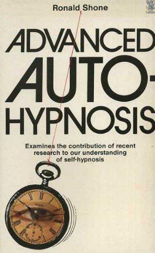 Advanced Auto-hypnosis By R. Shone | Used | 9780722508817 ...