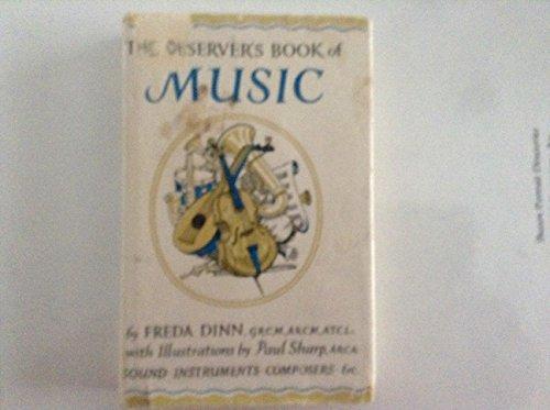 Observer's Book of Music (Observer's Pocket) By Freda Dinn
