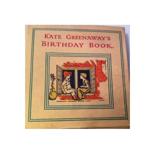 Birthday Book By Kate Greenaway