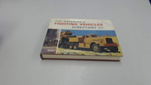 Observer's Fighting Vehicles Directory of World War II By Bart H. Vanderveen