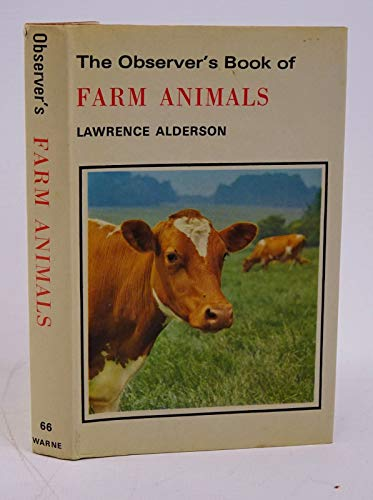 The Observer's Book of Farm Animals By Lawrence Alderson