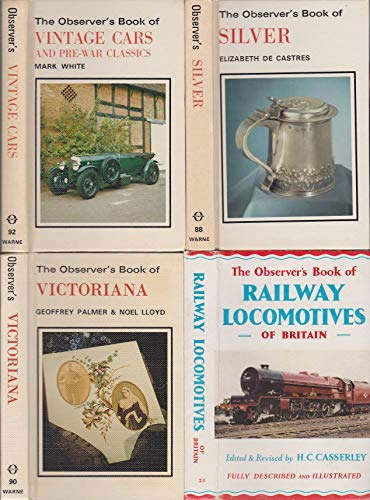 The Observer's Book of Vintage Cars and Pre-war Classics By Mark White