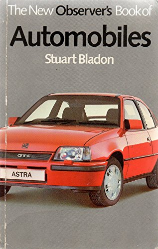 The New Observer's Book of Automobiles By Volume editor Stuart Bladon
