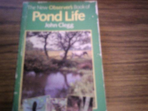 Observer's Book of Pond Life By John Clegg