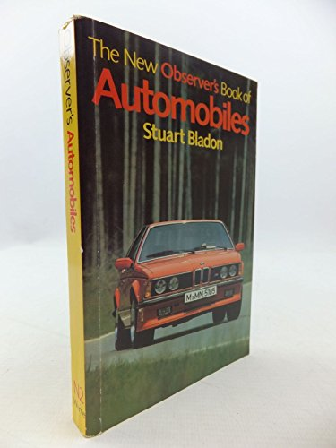 The New Observer's Book of Automobiles by Compiled by Stuart Bladon