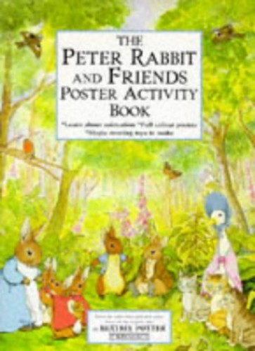 The Peter Rabbit And Friends Poster Activity Book By Beatrix Potter