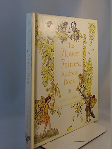 The Flower Fairies Address Book (Ss) Illustrated by Cicely Mary Barker