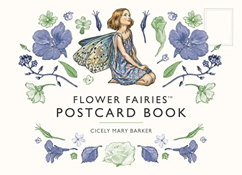 A Flower Fairies Postcard Book By Cicely Mary Barker