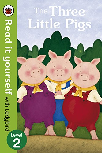 The Three Little Pigs -Read it yourself with Ladybird: Level 2 Illustrated by Virginia Allyn