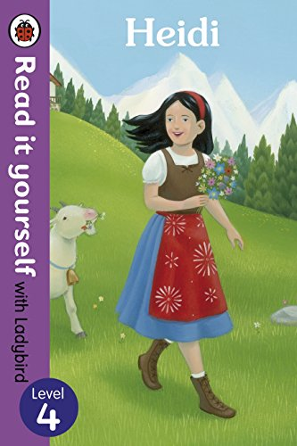 Heidi - Read it yourself with Ladybird By Illustrated by Tamsin Hinrichsen