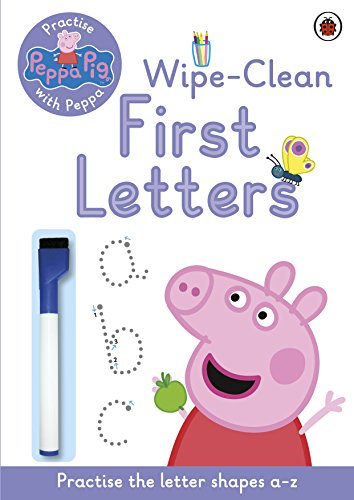 Peppa Pig: Practise with Peppa: Wipe-Clean First Letters By Peppa Pig