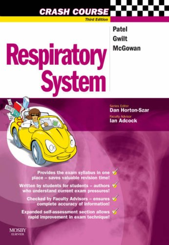 Crash Course: Respiratory System, 3e (Crash Course-UK) By Harish Patel