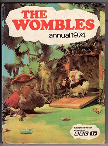 The Wombles Annual 1974 By Elizabeth Beresford