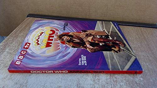 The Dr Who Annual 1981 By Anon