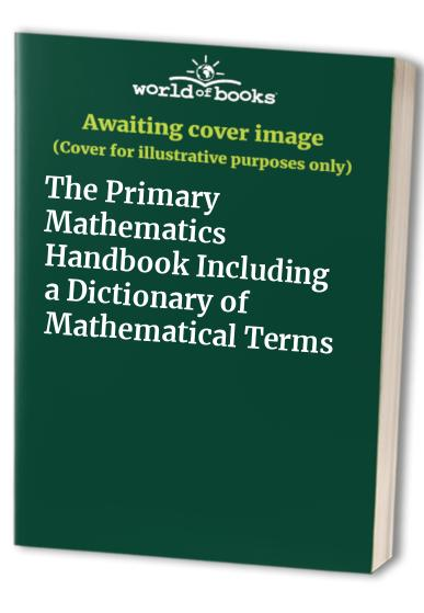 The Primary Maths Handbook By Harry O'Brien