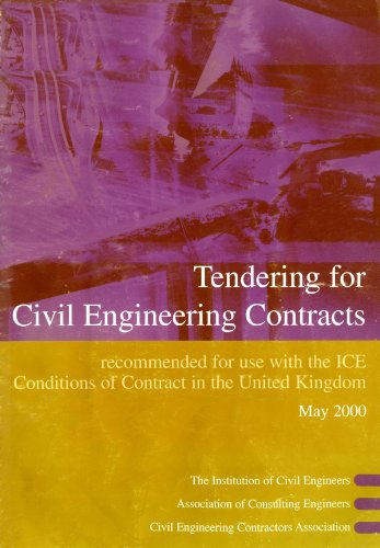 Tendering for Civil Engineering Contracts by Other primary creator Institution of Civil Engineers