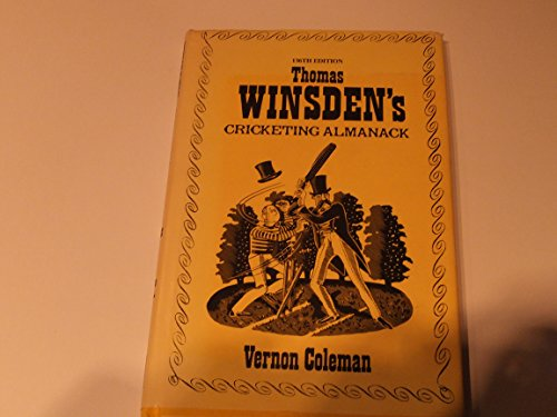 Thomas Winsden's Cricketing Almanack By Vernon Coleman