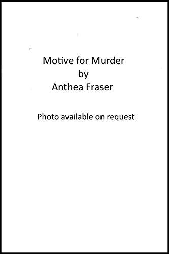 Motive for Murder By Anthea Fraser