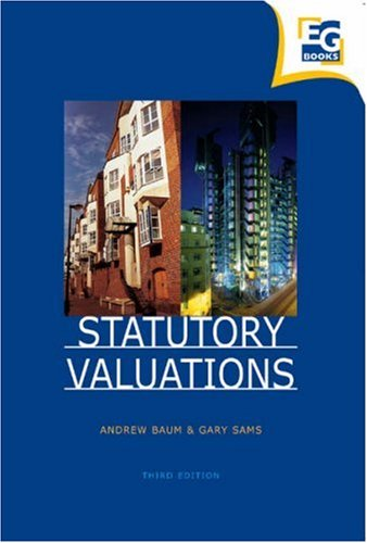 Statutory Valuations By Andrew E. Baum