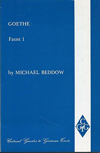 Goethe By Michael Beddow