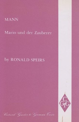 Mann By Ronald Speirs
