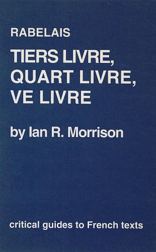 Rabelais By Ian R. Morrison