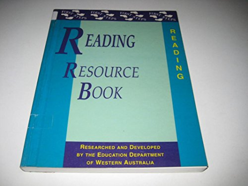 Reading Resource Book By Education Department of Western Australia