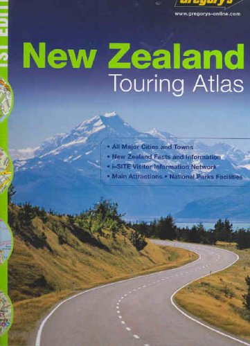 Gregory's Touring Atlas New Zealand By Terralink International