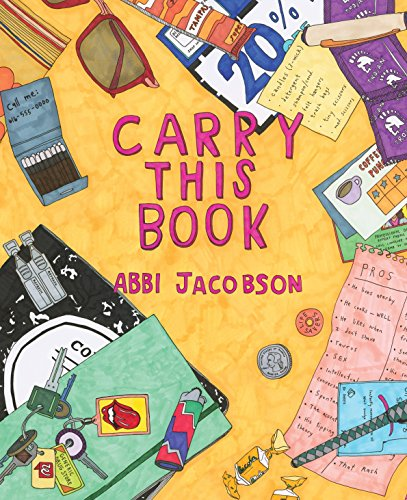 Carry This Book By Illustrated by Abbi Jacobson