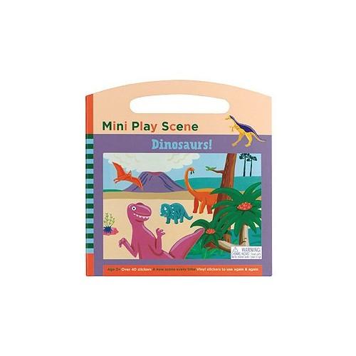 Dinosaurs Mini Play Scene By Galison