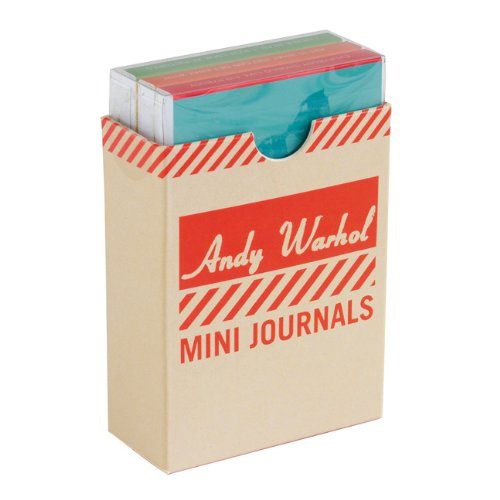 Andy Warhol Philosophy Mini Journal Set By Galison