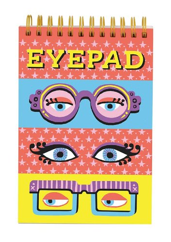 Eye Pad Lenticular Notepad By Galison