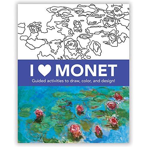 I Heart Monet Activity Book By By (artist) Claude Monet