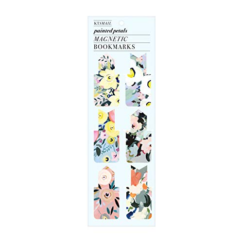 Painted Petals Magnetic Bookmark By Sarah McMenemy