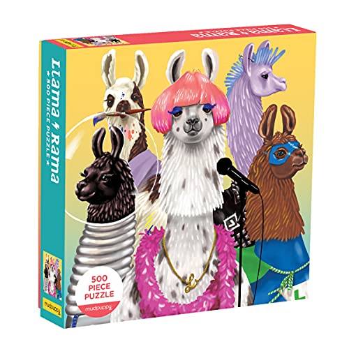 Llama Rama 500 Piece Family Puzzle von Mudpuppy