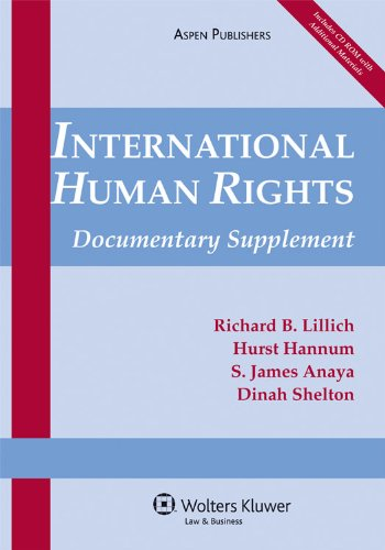 International Human Rights By Richard B Lillich