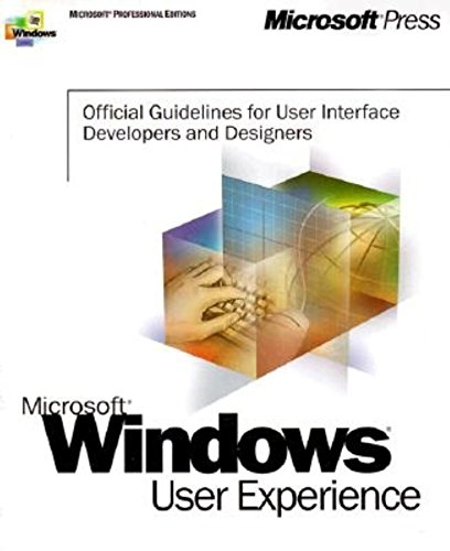 Windows User Experience By Microsoft Corporation