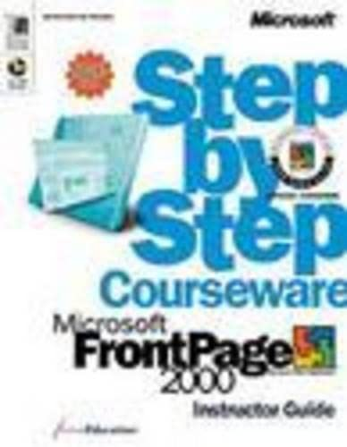 Microsoft FrontPage 2000 Step by Step by ActiveEducation