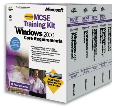 MCSE Windows 2000 Core Requirements Training Kit by Microsoft Press