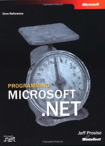 Programming Microsoft .NET By Microsoft Corporation