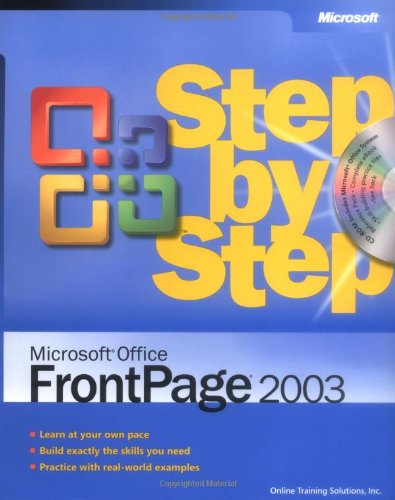Microsoft Office FrontPage 2003 Step by Step By Online Training Solutions