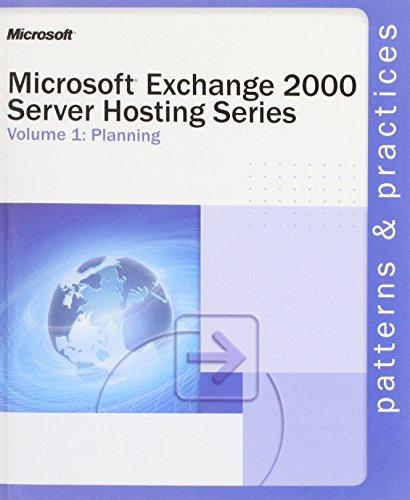 Exchange 2000 Server Hosting Series By Microsoft Press