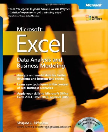 Microsoft Excel Data Analysis and Business Modeling by Wayne L. Winston