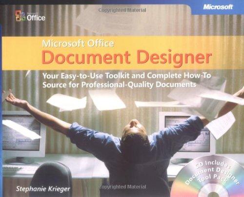 Microsoft Office Document Designer By Stephanie Krieger