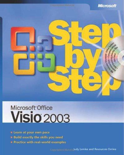 Microsoft Office Visio 2003 Step By Step By Judy Lemke
