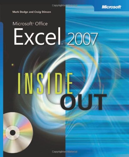 Microsoft Office Excel 2007 Inside Out By Craig Stinson