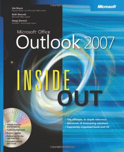 Microsoft Office Outlook 2007 Inside Out by Jim Boyce