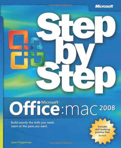 Microsoft Office 2008 for Mac Step by Step By Joan Preppernau