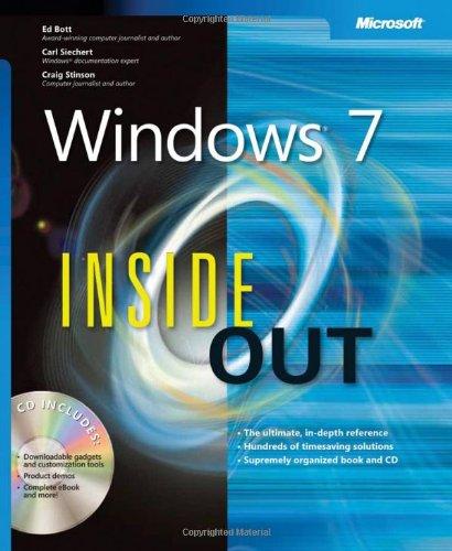 Windows® 7 Inside Out By Ed Bott