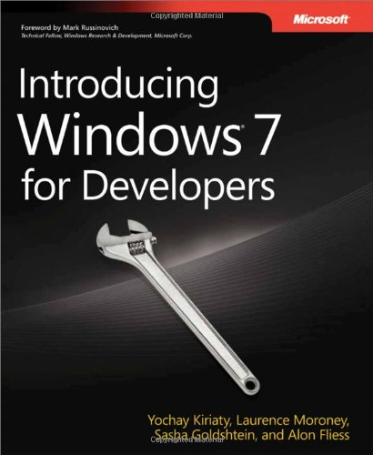Introducing Windows 7 for Developers By Alon Fliess